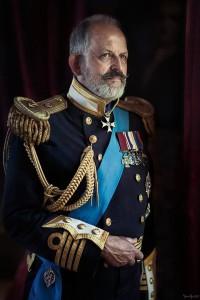 """Bert als """"King George V"""" fotograaf Henk van Rijssen"""