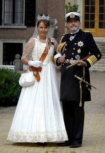 Kaizer Wilhelm II en Auguste Victoria Locatie: Huis Doorn