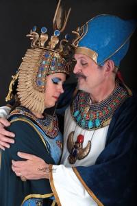 Egyptische kostuums gemaakt door olsderart.nl  Foto : Gea van Lohuizen