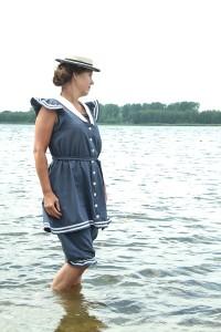 badkleding anno 1900 foto: Gea van Lohuizen
