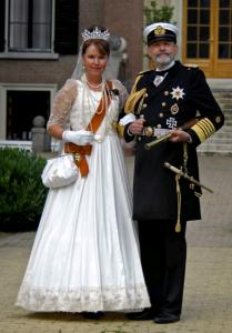 Kaizer Wilhelm II en Auguste Victoria Locatie  Huis Doorn