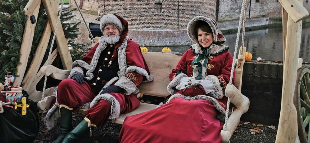 Country and Christmas Fair  vrijdag 22 November en zaterdag 23 November 2019 kasteel Haarzuilens.